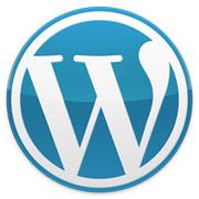 wordpress logo - viktigt å oppdatere WordPress kontinuerlig
