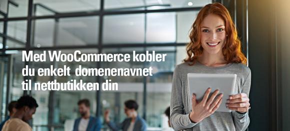 WooCommerce kobler enkelt domenenavnet til nettbutikken din